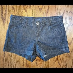 STS BLUE Dark Wash Denim Jean Shorts